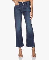 Closed Baylin Cropped Flared Jeans - Dark Blue