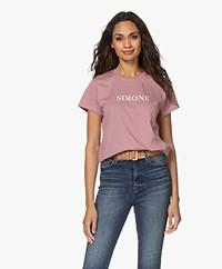 Zadig & Voltaire Zoe Citation Simone T-shirt - Parme