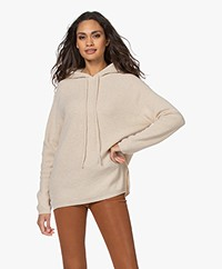 Sibin/Linnebjerg Freja Knitted Hooded Sweater - Kit
