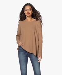 Sibin/Linnebjerg Neva Merino Blend Sweater - Camel