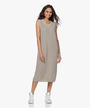 Joseph Dawson Sleeveless Dress in Egyptian Cotton - Cloud