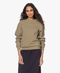 Closed Cotton French Terry Sweatshirt - Green Umber