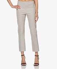 By Malene Birger Florentina Leather Pants - Greige