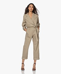 Zadig & Voltaire Cosmos Assymetric Boilersuit - Mackintosh