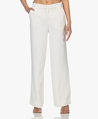 Kyra & Ko Nila Stretch Crêpe Pantalon - Almond