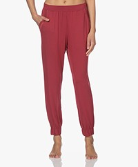Calvin Klein Modal Jersey Lounge Pants - Deep Sea Rose