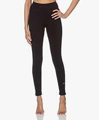 Denham Move Tech Rib Jersey Legging - Zwart