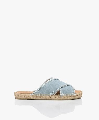 Castaner Palmera Espadrille Sandals - Blue Water