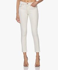 Rag & Bone Cate Cropped Skinny Jeans - Ecru