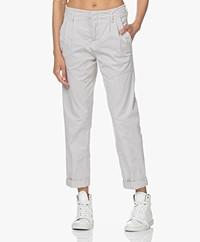 Drykorn Depart Cotton Cargo Pants - Grey