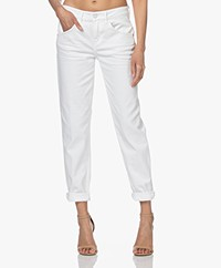 Drykorn Like Girlfriend Stretch Jeans - White