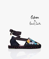 Castaner Paul Smith Limited Jean Espadrille Sandals - Azul Marino