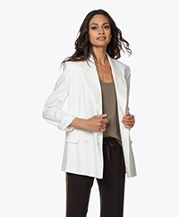 Closed Esra Double Breasted Blazer - Ivoor