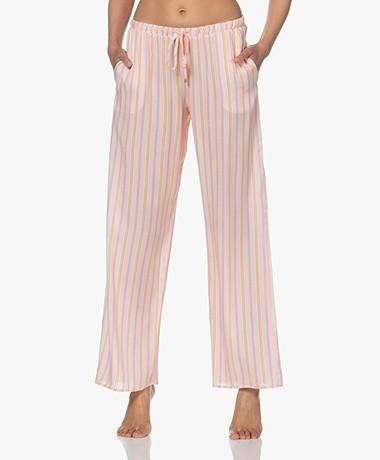 HANRO Sleep & Lounge Printed Pants - Jolly Stripe