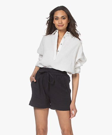 Shades Antwerp Nilan Muslin Shirt - Ecru