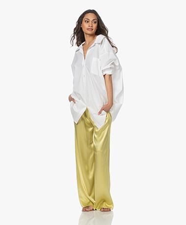 Mes Demoiselles Scharade Oversized Poplin Shirt - White