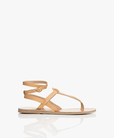 Ancient Greek Sandals Estia Leren Sandalen - Natural