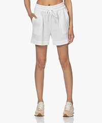 Shades Antwerp Amelie Mousseline Short - Ecru