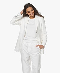 Woman by Earn Maan Linen Blazer - Off-white