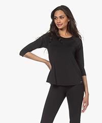 Deblon Sports Casey Light Tech Jersey T-shirt - Zwart