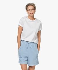 Drykorn Anisia Basic Cotton T-shirt - White