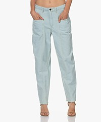 American Vintage Lazybird Loose-fit Jeans - Dirty Bleached