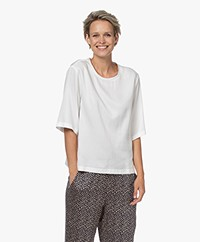 Drykorn Diedra Cupromix Blousetop - Off-white