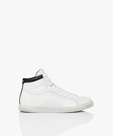 ba&sh Hcosta Leather Sneakers - White