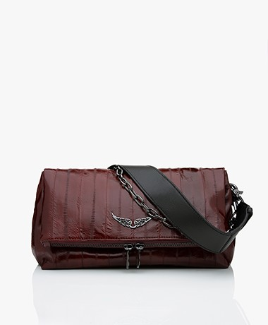 Zadig & Voltaire Rocky Patent Leather Cross-body/Shoulder Bag - Swing