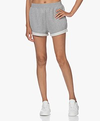 Ragdoll LA Katoenmix Sweat Shorts - Heather Grey