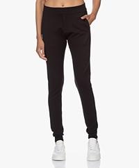 studio .ruig Boey Heavy Ponte Jersey Pants - Black