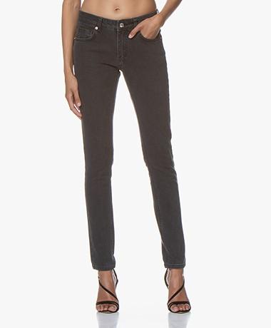 Zadig & Voltaire Ever Slim-fit Jeans - Gewassen Zwart