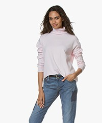 Closed Wool and Cashmere Turtleneck Sweater - Jasmine Pink