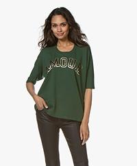 Zadig & Voltaire Portland Amour Print T-shirt - Officier