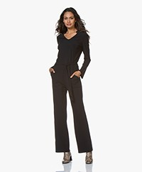 JapanTKY Waimi Travel Jersey Jumpsuit - Black
