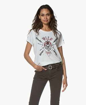 MKT Studio Tigrine Print T-shirt - Off-white