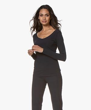 JapanTKY Tiyo Reversible Jersey Long Sleeve - Blue Black