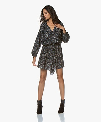 Zadig & Voltaire Right Print Mini Dress - Black