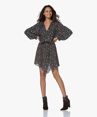 Zadig & Voltaire Right Print Mini Dress - Black