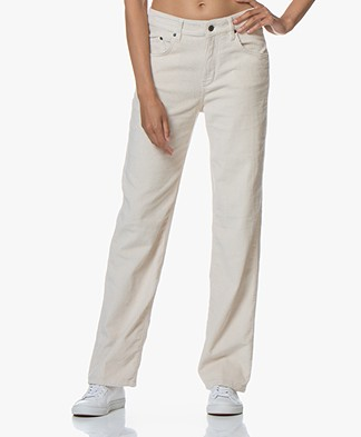 Drykorn Yet Cotton Corduroy Pants - Beige