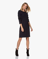 Filippa K Carla Ponte Jersey Dress - Navy