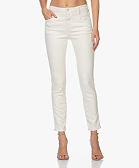 Closed Skinny Pusher Super Stretch Jeans - Cream