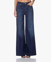 Closed Glow-Up Flared Stretch Jeans - Dark Blue