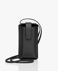 Kyra & Ko Leather Phonebag - Black