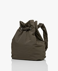 Rag & Bone Revival Gerecyclede Rugtas - Olive Night