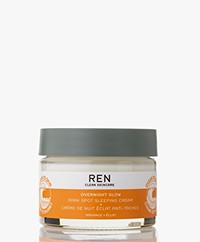 REN Clean Skincare Radiance Overnight Glow Dark Spot Sleeping Cream