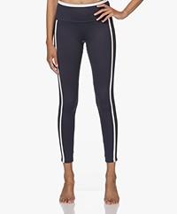 Deblon Sports Kate Sports Leggings - Navy/Off-white