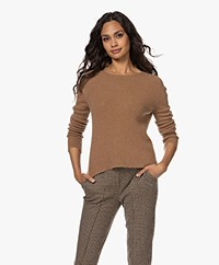indi & cold Fine Knitted Sweater - Camel