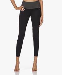 Deblon Sports Lea Sports Leggings - Black/Grey