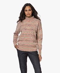 Vanessa Bruno Soleil Wool Turtleneck Sweater - Sorbet